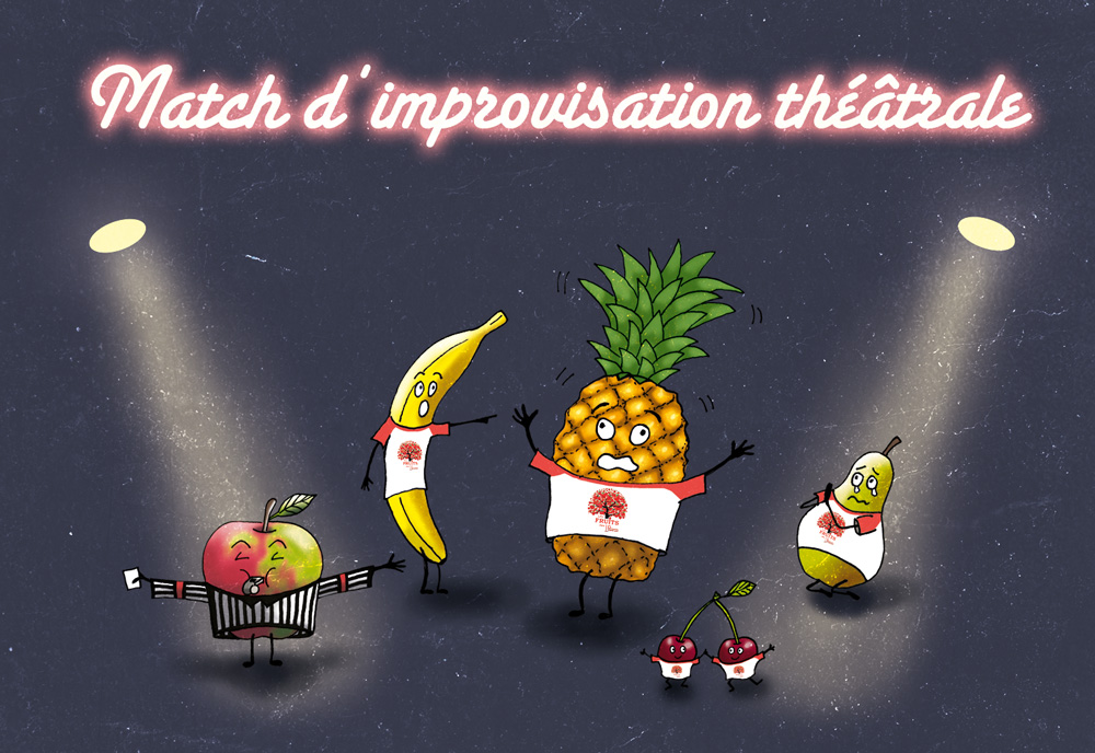 Match d'improvisation Derby vs F' et Fondus
